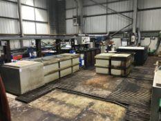 Zinc Plating Section Comprising of Hot Rinse, Two Rinse Tanks, Acid Zinc Tank, Zinc Chloride,