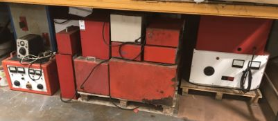 20 Various Capacity Rectifiers (Located Northampton, See General Notes for More Details)