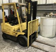 Hyster H1.50XM 1500kg Gas Forklift Truck (2000), Serial Number: D001B11035X, Height to Top of