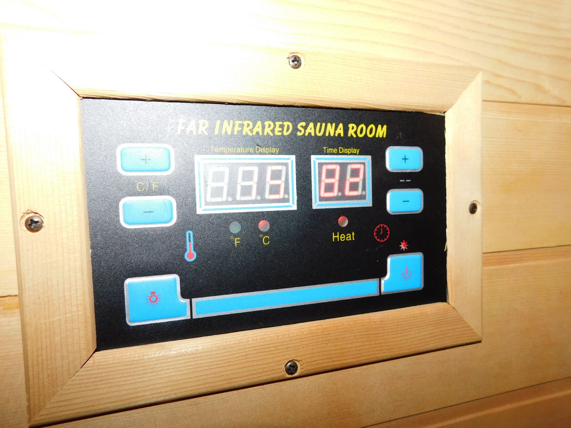FAR Freestanding Infrared Sauna, W1.8m x H1.9m x D1.2m (Located Corby – See General Notes for - Image 5 of 7