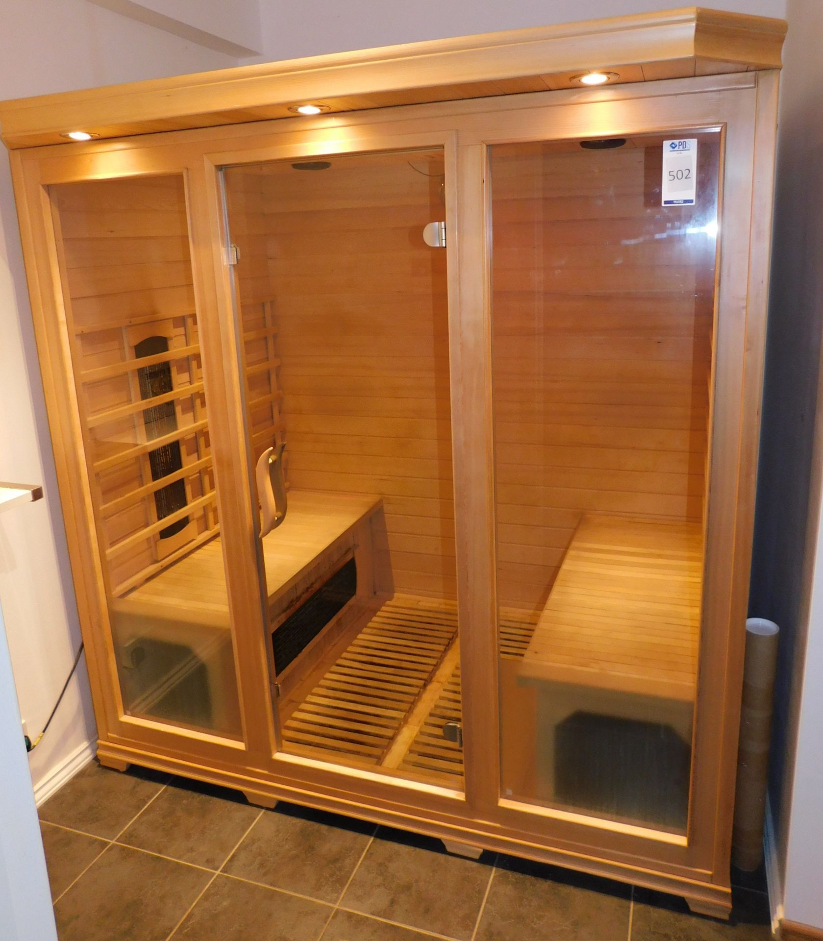 FAR Freestanding Infrared Sauna, W1.8m x H1.9m x D1.2m (Located Corby – See General Notes for - Image 3 of 7