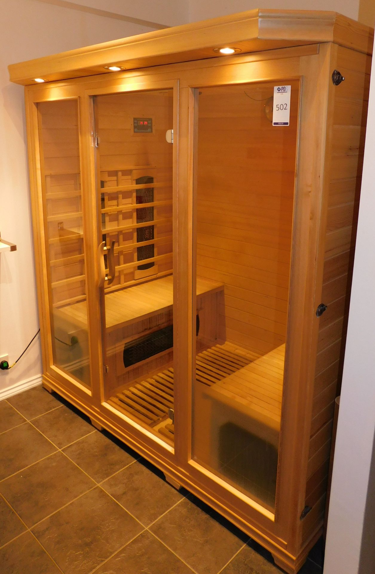 FAR Freestanding Infrared Sauna, W1.8m x H1.9m x D1.2m (Located Corby – See General Notes for - Image 2 of 7