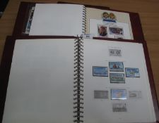 Channel Islands mint and used selection of stamps in two albums plus 1986 Royal wedding sets,