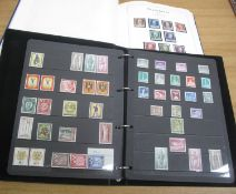 BERLIN USED STAMP COLLECTION 1948 to 1990 in Lighthouse printed album and Hagner stock album of mint