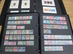 WEST GERMANY MOSTLY MINT STAMP COLLECTION in two stock albums 1949 to 1990's, many 100s of stamps,