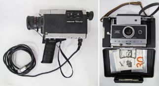 A Ferguson colour video camera together with a Polaroid Automatic 250 camera (2)