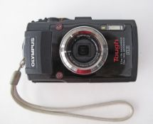 Olympus F2.0 Tough with GPS digital camera shockproof and waterproof, pocket, autofocus.