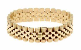 Rolex Armband ( Jubile) 750/- Gelbgold 73,38 g Handgelenksumfang 19,00 cm