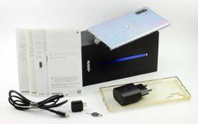 Samsung Galaxy Note 10 Plus 256 GB mit Zubehör und Box
