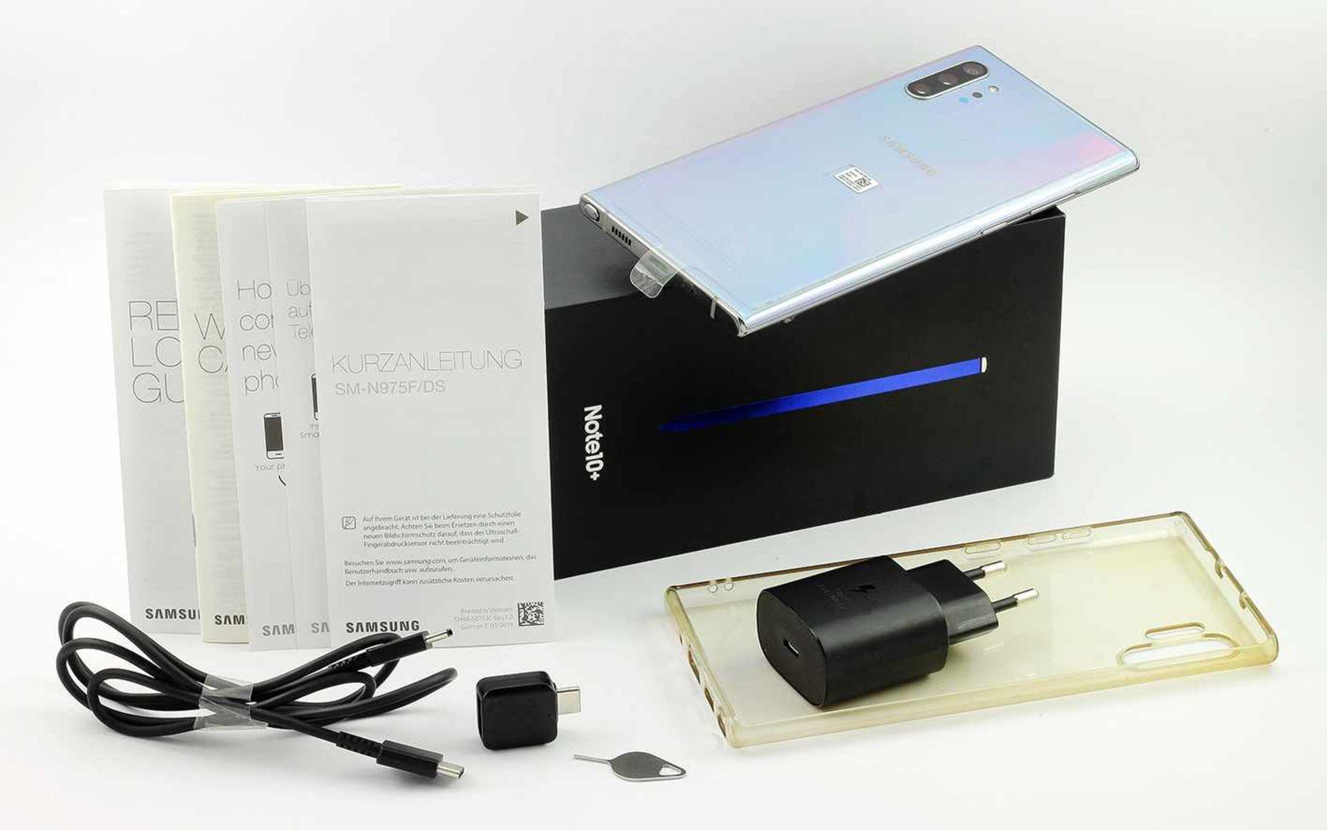Los 63 - Samsung Galaxy Note 10 Plus 256 GB mit Zubehör und Box