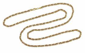 Königskette 585/- Gelbgold 27,14 g Länge 80,00 cm