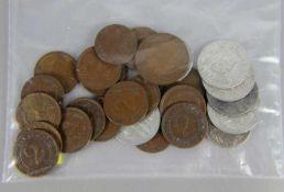 Konvolut Reichspfennig-Münzen<