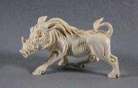 Skulptur Warzenschwein