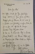 Richard Strauss-Autograph