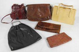 Konvolut Handtaschen