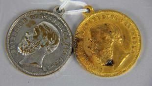 Konvolut Medaillen Fahnenweihe