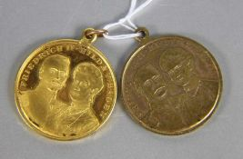 Konvolut Medaillen Friedrich II.