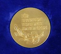 Medaille Stadt Karlsruhe
