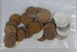 Konvolut Reichspfennig-Münzen28tlg., Konvolut Reichspfennig-Münzen, 9 Rentenpfennig Dt. Reich, davon