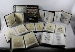 Konvolut Ersttagsblätter und Briefmarken