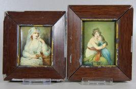Paar Miniaturen