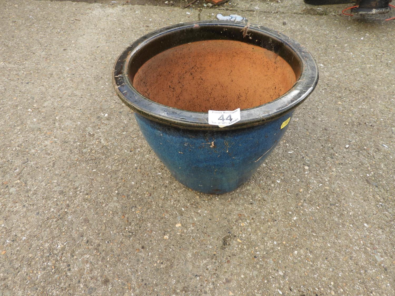 Lot 44 - Glazed Garden Planter