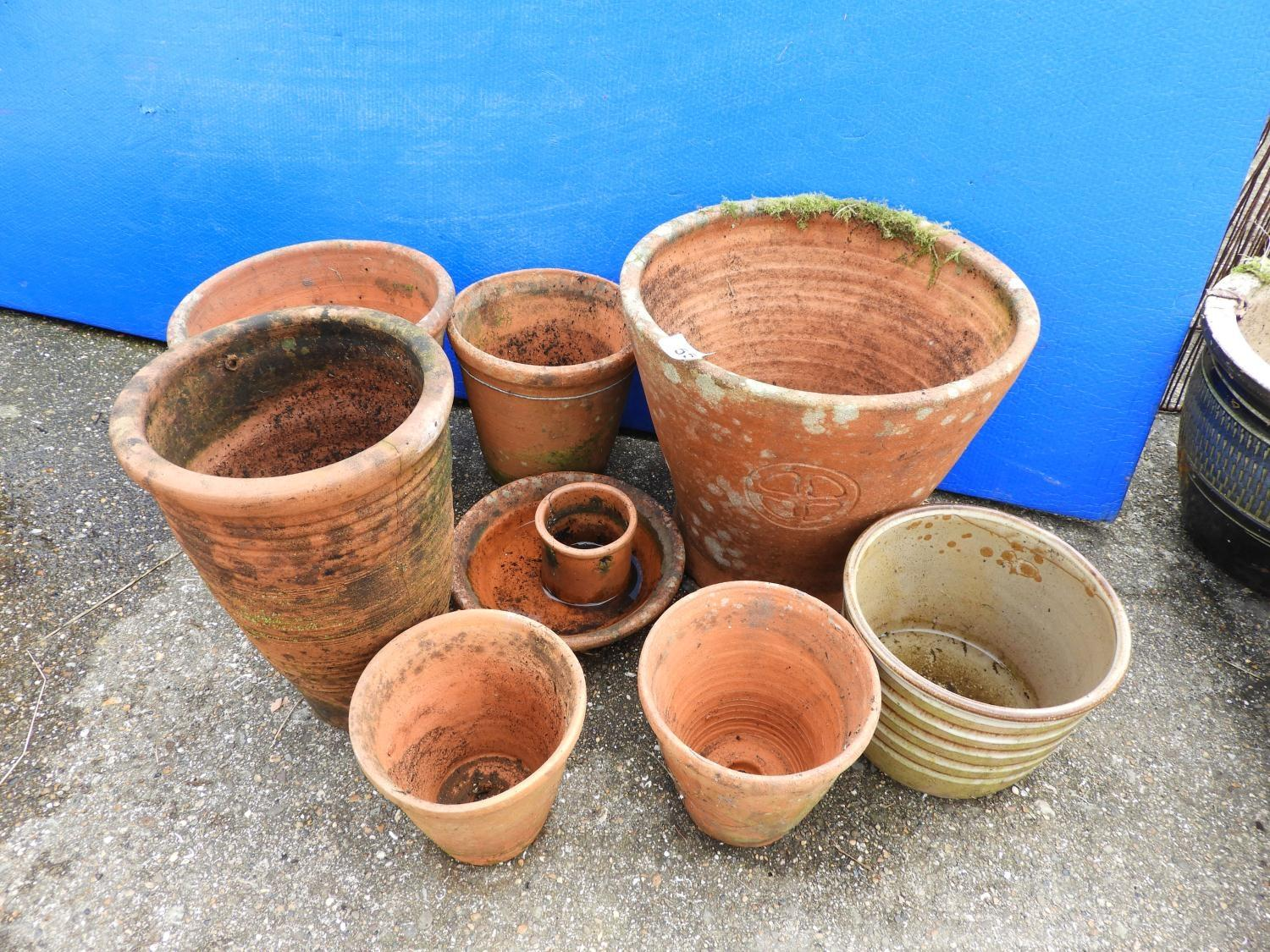 Lot 55 - Terracotta Pots