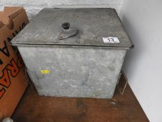 Tin and Contents - Camping Stove