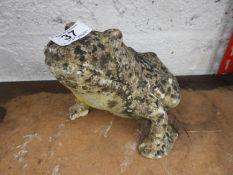 Garden Ornament - Frog
