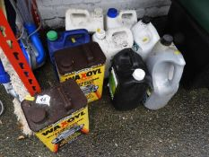 Wax Oil, Fence Care etc