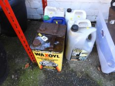 Wax Oil, Fence Care etc
