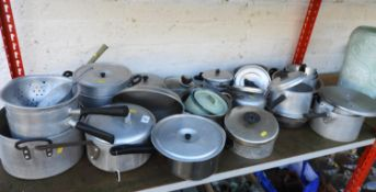 Large Quantity of Aluminium Pans etc