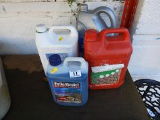 Garden Chemicals - Patio Magic, Car Wash etc