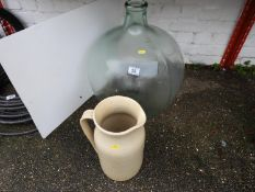 Glass Carboy and Jug