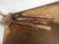 Hand Tools - Axe etc