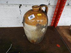Stoneware Flagon - Muir & Co, Alloa Limited