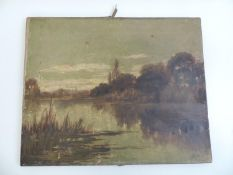 Oil on Canvas - Initialled and Dated 1886 - 53cm x 43cm
