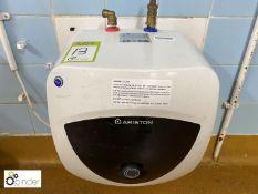 Ariston New Euro Prisma 15UR 3kw Water Heater (located in Main Kitchen, Basement) **** please note