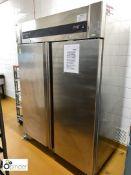 Lockhart Artica stainless steel double door mobile Fridge (located in Main Kitchen, Basement) ****