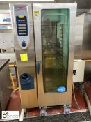 Rational SCC201 20-tray Combination Oven (located in Main Kitchen, Basement) **** please note this