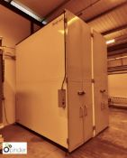 Natgraph VDC Special Drying Cabinet, 20 portrait drying sections, screen size 3200mm x 2100mm max,