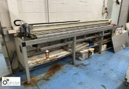 Thieme TSC310 Squeegee Cutter, 3100mm, 400volts, year 2001, serial number TSC31010904010597
