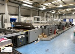 Thieme 5070 Wide Format 4-colour Screen Printing Press, year 2003, serial number 570030406212774,