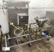 Shuffle-Mix Mixer/Aerator, with integrated mobile frame (LOCATION: Croxton) / (please note this