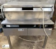 Garland F30 G-L stainless steel gas fired Braising Pan, with power tilt (LOCATION: Croxton) / (