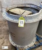 Woods Bifurcated Fan, 380/440volts, 600mm diameter (LOCATION: Croxton) / (please note this lot has a