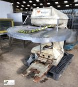 Kemper high speed Spiral Mixer, 415volts, with stainless steel mixing bowl and bowl trolley,