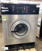 JLA HC135C Commercial Washing Machine, 400volts, 135litre capacity, dry load 13kg (LOCATION:
