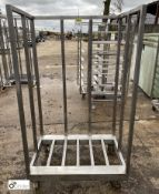Stainless steel Trolley, 915mm x 600mm x 1600mm high (LOCATION: Croxton) / (please note this lot has