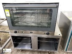 Unox XF090P Electric Oven, 400volts, 6.5kw with mobile stand (LOCATION: Croxton) / (please note this
